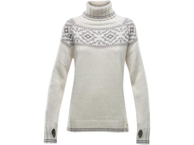 Devold Ona Round Sweat-Shirt Femme, offwhite